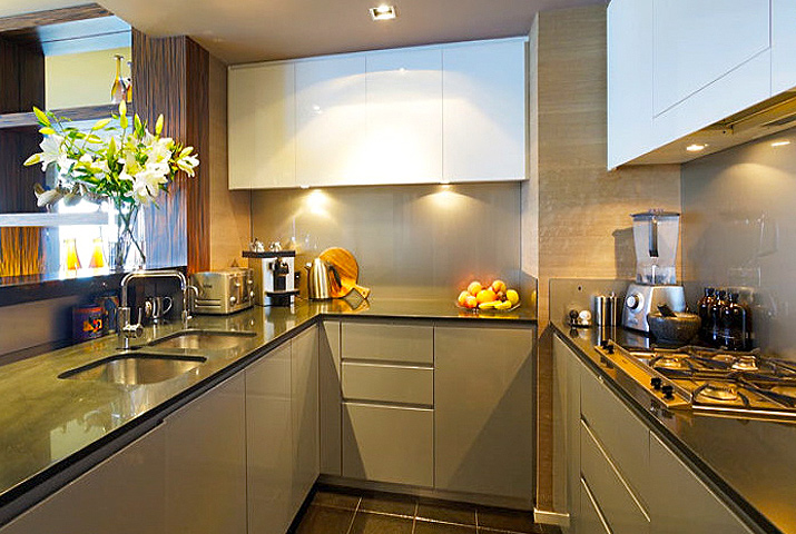 Small kitchen perfect finishes
