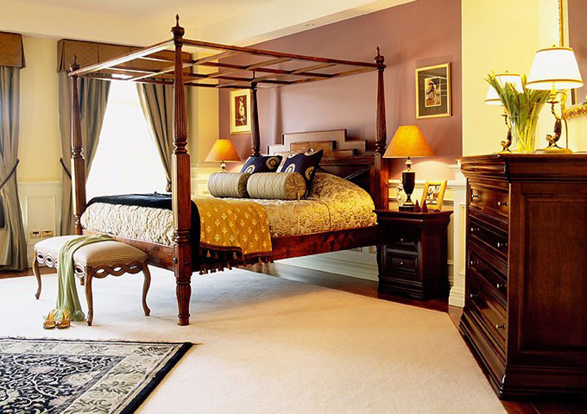 Classic bedroom interior