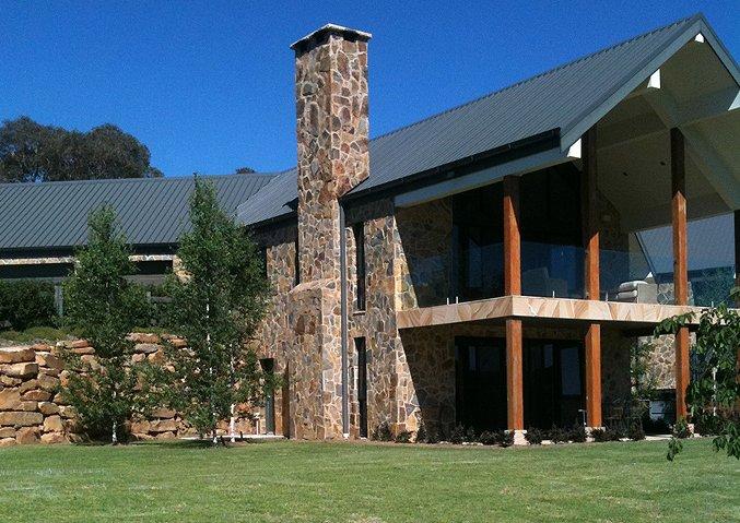 Grand lodge exterior