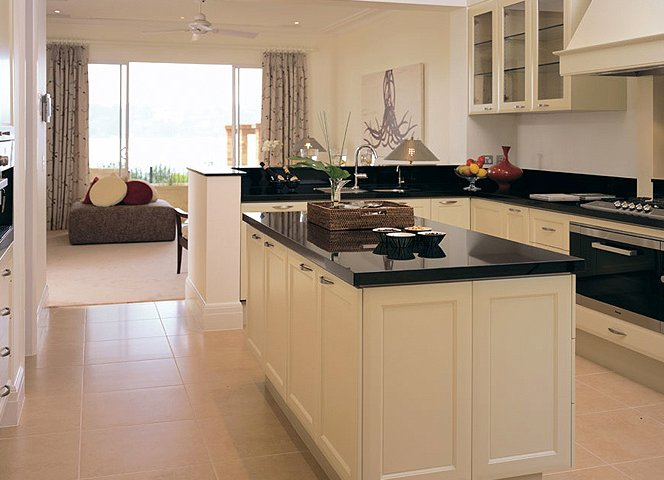 Clean line kitchen finishes