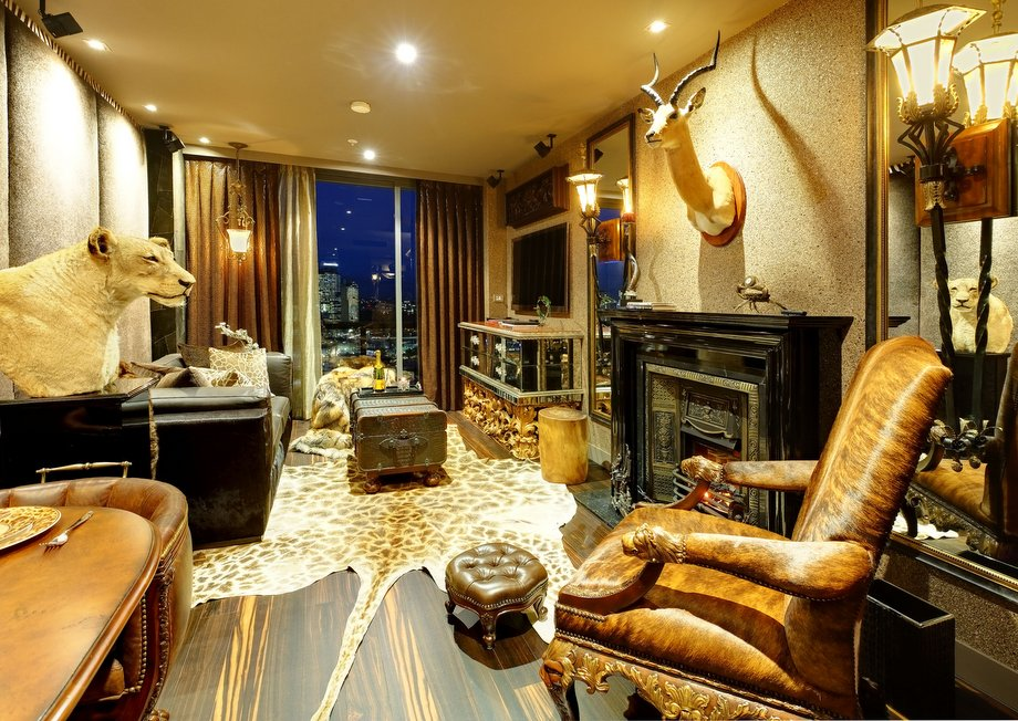 African style interior