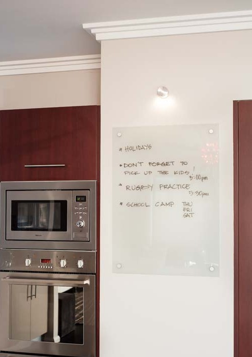 Kitchen glass board