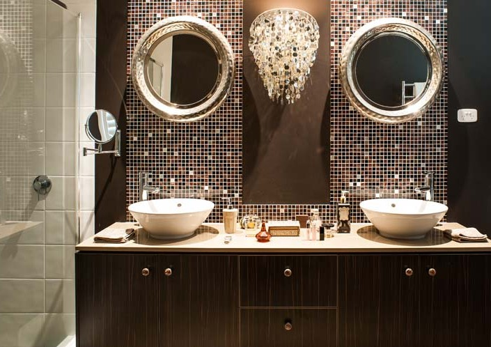 Glamour's bathroom design