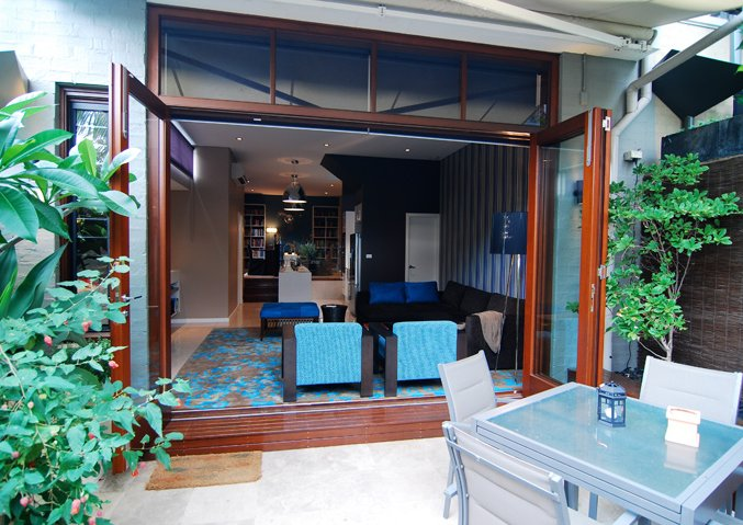 Indoor outdoor living example